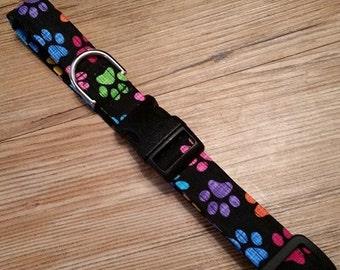 Adjustable Handmade Dog Collar size Medium