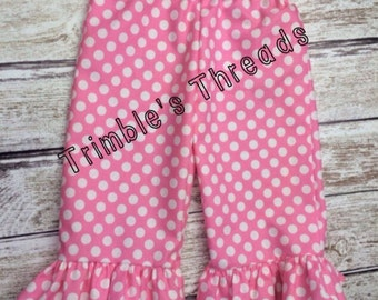 Ruffle Pants Made To Match ADD ON