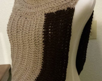 katniss everdeen hunger games catching fire mocking jay movie inspired cowl handmade knit crochet scarf tunic womens accessories