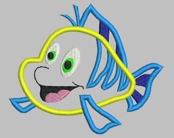 Flounder Applique