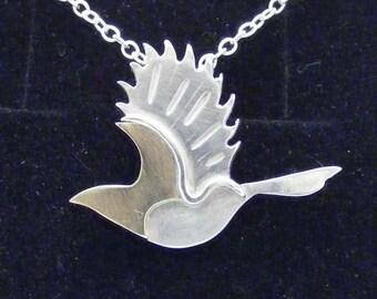 Flying Wren Pendant