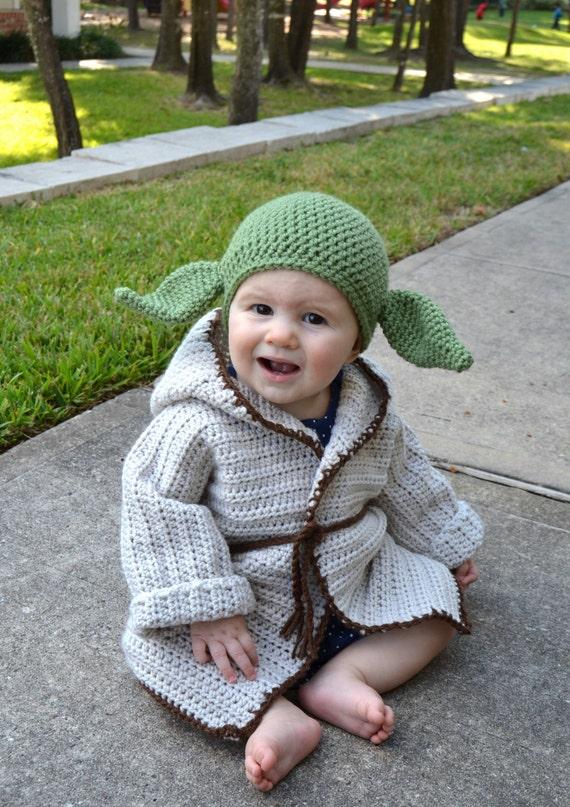 Baby Yoda Halloween Costumes Baby Yoda Costume Jedi Robe