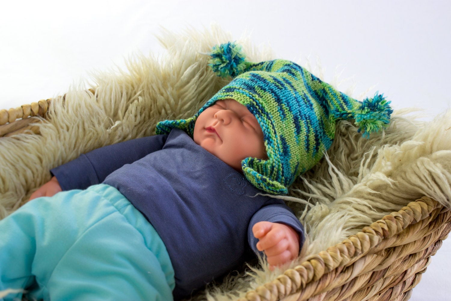 Knitting Pattern For Baby Jester Hat : KNITTING PATTERN Jester Hat Knitting Pattern Baby and Kids