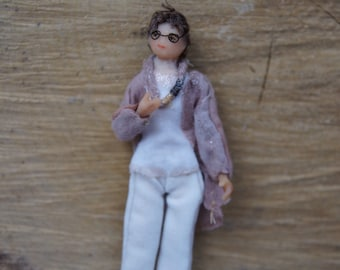 Bettina made to order miniature gift doll