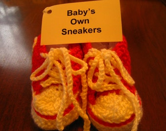 Baby's Own Converse Red Sneaker