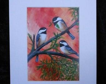 Chickadee Trio