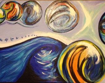 Marbled Skies