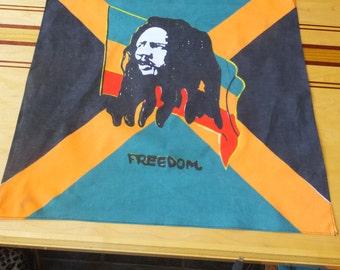 Bob Marley Freedom Scarf