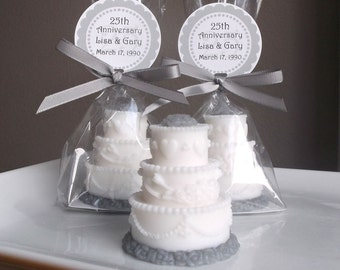 25th Anniversary Favors Party Wedding