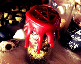 Love Battery - Witch Bottle - Spell Bottle - Witches Bottle ~ witchcraft ~ paganism ~ pagans