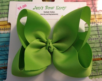 Apple Green Boutique Bow