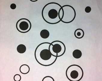 30 - Silk Screen - Large - Jane's Dots and Circles