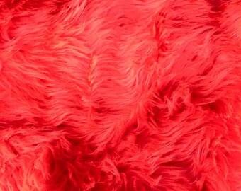 Luxury Shag Fur Fabric Scrap
