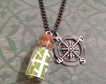 Geocaching Vial Necklace
