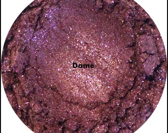 Dame Pin Up Girl Collection  Loose Eyeshadow Mineral Makeup Eye Shadow
