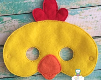 Felt Chicken Mask