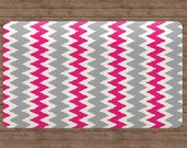 Chevron Area Rug, Area Rug 5x8, Hot Pink Rug, Rugs Chevron, Teen Room Decor, Pink and Grey Chevron Nursery, Pink Dorm Decor, Christmas Rug