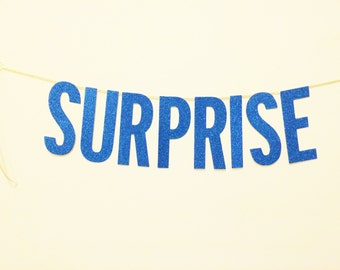 Surprise Banner, Surprise Party, Photo Booth