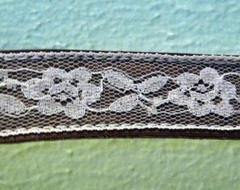 Vintage Tan and Lace Cowgirl belt