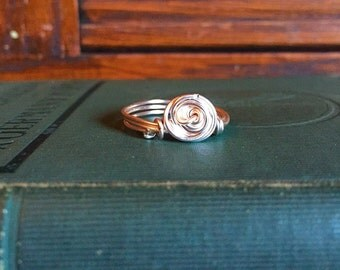 Wire whirlpool ring