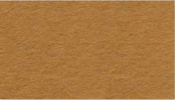 "Plush Felt: 1 Yard - Honey  by ""Kunin"""