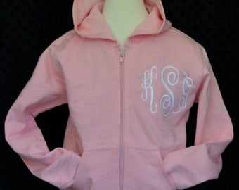Zippered  and Pullover Hoodies 0-12 Years Choose your Colors and Fabrics