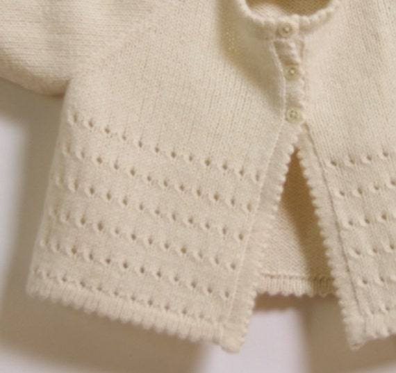 Knitting Pattern Cardigan For 18 Months : Baby Cardigan / Knitting Pattern Instructions in English / PDF Instant Downlo...