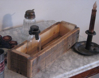 Rustic Distressed  Wooden Box