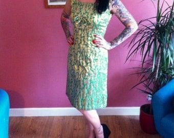 1960s vintage evening dress