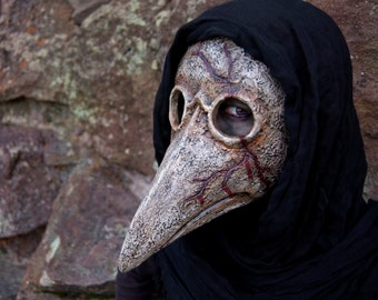 Made to Order - Bleeding Plague Doctor Mask
