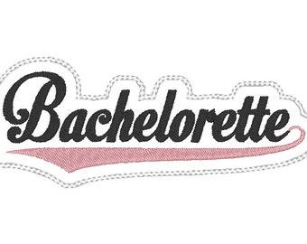 Bachelorette Headband Slider design Instant Download