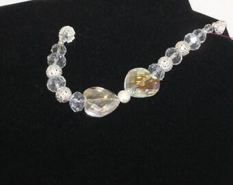 Sparkling Crystal Heart Bracelet