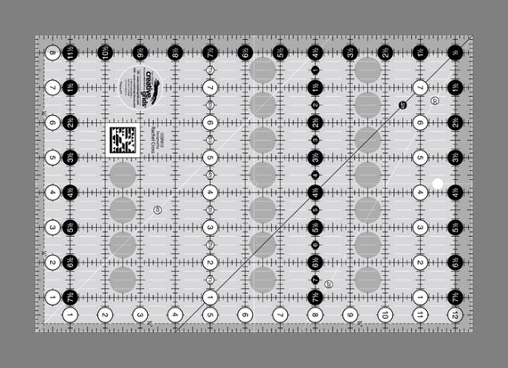 Creative Grids Ruler (Quilting) - CRG812 - 8 1/2 by 12 1/2 inches ... : creative grid rulers for quilting - Adamdwight.com