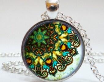 Mandala #8 Pendant Necklace