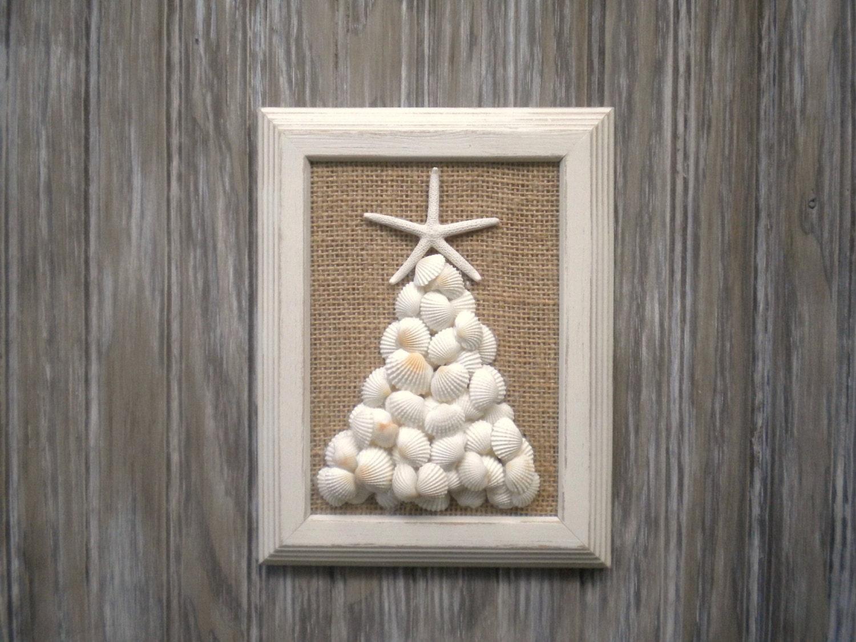 Art Décor: Beach Christmas Wall Art Beach House Decor Beach Ornament