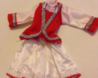 1970s Faerie Glen Majorette Costume - No Doll