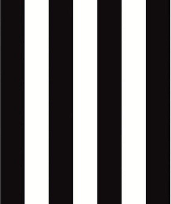 125 pouces noir et blanc rayure wallpaper bistro caf. Black Bedroom Furniture Sets. Home Design Ideas