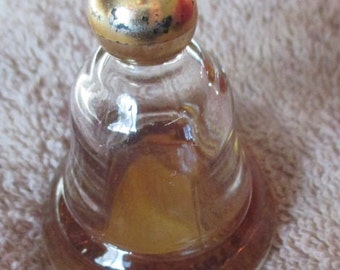 Perfume Bottle Made in England Bell Shape
