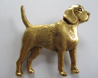 JJJonette Beagle Dog Brooch pin