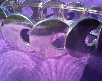 Circle cascade bracelet