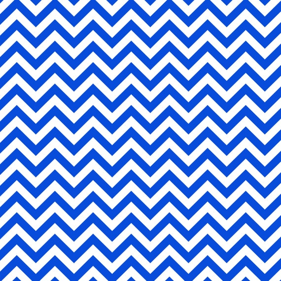 Royal blue chevron window curtain kids by eloquentinnovations