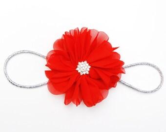 Red love headband