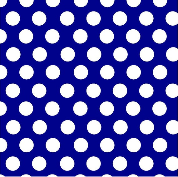 Navy With White Polka Dots Heat Transfer Or Adhesive Vinyl