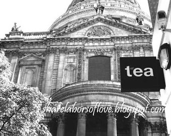 Tea Time at St. Paul's Cathedral, London, United Kingdom Photography
