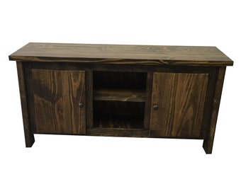 TV Stand / Media Console / Media Cabinet / Rustic Media Console / TV Console / Media Stand / Media Center / Entertainment Center