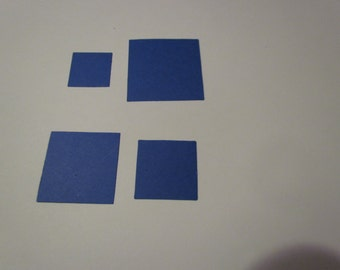 square die cuts