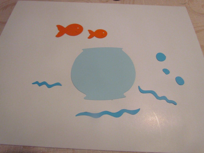 Fish Bowl Die Cuts