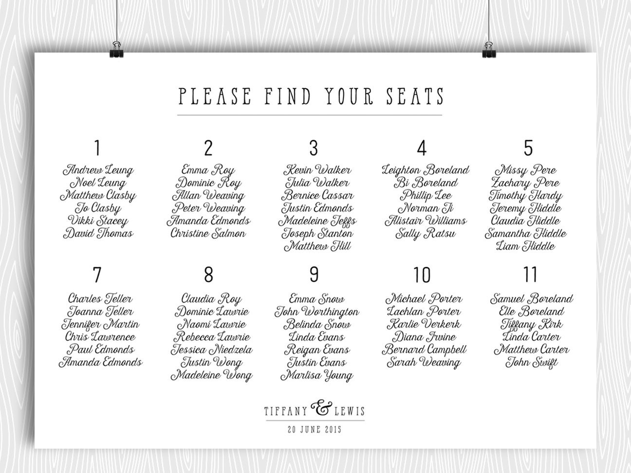 dinner seating plan template dinner seating plan template images template design ideas