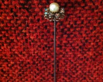 Rhinestone Hat Pin
