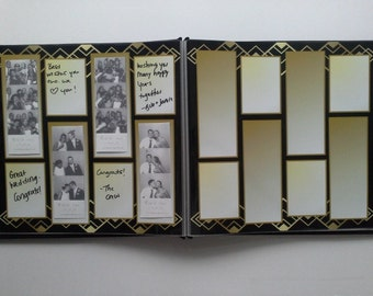 1920's Art Deco Photo Booth Guest Book
